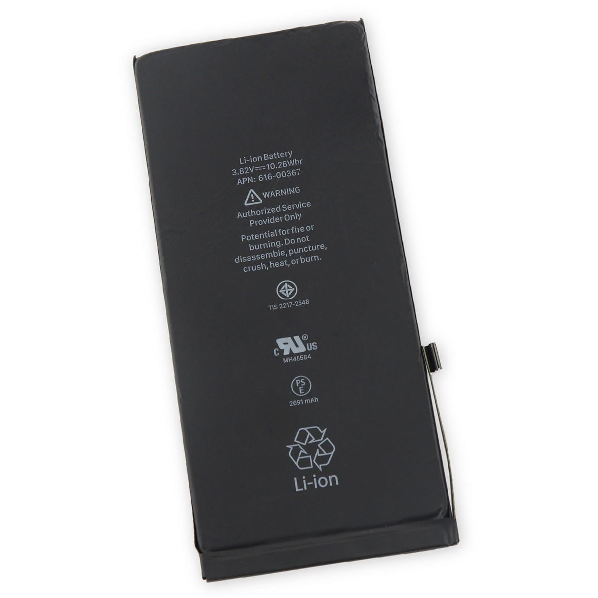iphone 8 plus аккумулятор