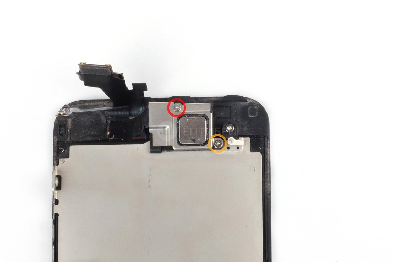 замена переднего динамика iphone 5