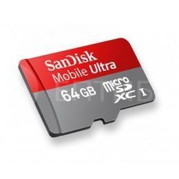 """Карта памяти для MacBook Pro Retina 15"""" и Air 13"""" SanDisk 64 Гб microSDXC"""