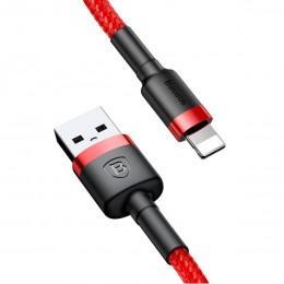 Lightning кабель 3m Baseus Cafule Cable USB CALKLF-R09 Красный