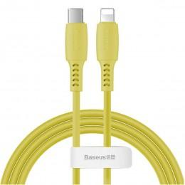 Кабель Type-C - Lightning для iPhone 1.2m Baseus Colourful Power Delivery cable 18W CATLDC-0Y