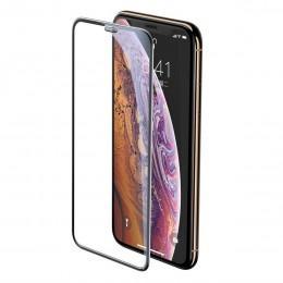 Защитное стекло для iPhone XS Max и 11 Pro Max Baseus 0.23 mm Full-Screen Сurved Tempered SGAPIPH65-WA01