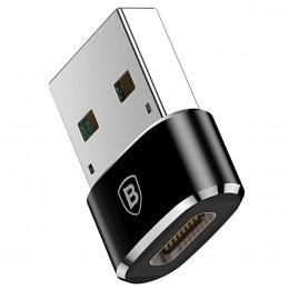 Переходник адаптер OTG с USB на USB Type-C Baseus CAAOTG