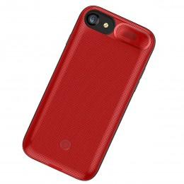 Чехол аккумулятор зарядка 3000mAh красный для iPhone 6, 6S