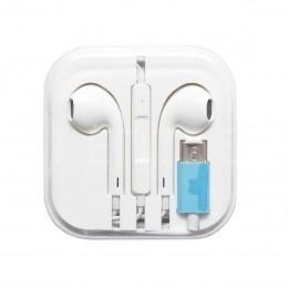 Наушники USB Type-C в стиле Apple EarPods
