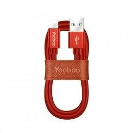 Кабель в твёрдой оплётке Yoobao YB-428 Lightning на USB для iPhone, iPad