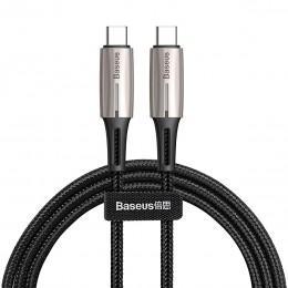 Кабель Baseus CATSD-J01 USB Type-C на Type-C для зарядки Macbook, iPad Pro