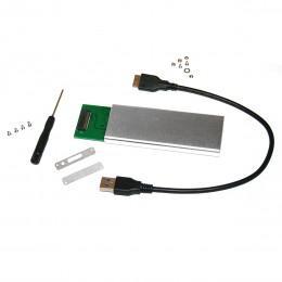 Бокс переходник с диска M.2 PCI-e на USB 3.0 для MacBook, iMac, Mac mini
