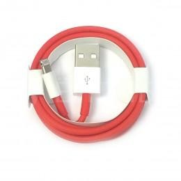 USB Lightning кабель провод для Apple iPhone 7 Red