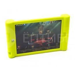 Детский чехол для ребенка для iPad Mini силиконовый лимонный
