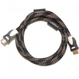 Мощный кабель HDMI - HDMI 1.5м в оплетке