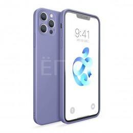 Чехол для iPhone 12 Pro голубой матовый
