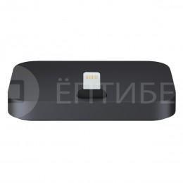 Зарядная Dock - станция черная для iPhone 5, 5C, 5S, 6, 6 Plus