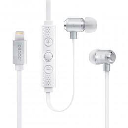 Наушники MFI Deppa Stereo Lightning 8-pin для Apple iPhone 7