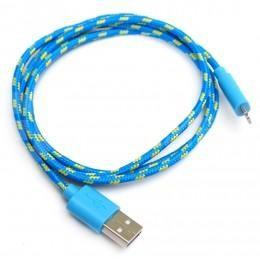 Модный голубой USB Lightning зарядка, провод для iPhone 5, 5s, 5c и iPad retina/mini ligtning