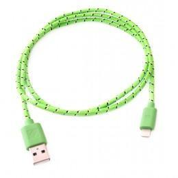 Модный зеленый USB Lightning зарядка, провод для iPhone 5, 5s, 5c и iPad retina/mini ligtning