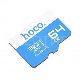 Карта памяти Hoco для камер, телефонов, планшетов 64 ГБ 10 Class MicroSDXC