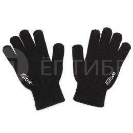 Перчатки iGlove для сенсорных экранов, телефонов iPhone черные