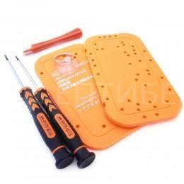 Набор инструмента для ремонта iPhone 5 (отвертки, присоска, спуджер, табличка для винтов)