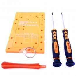 Набор инструмента для ремонта iPhone 4 (отвертки, присоска, спуджер, табличка для винтов)