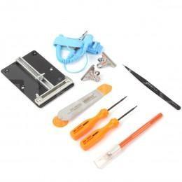 Набор 9 в 1 для ремонта техники с PCB-держателем