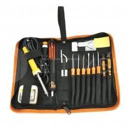 Большой профессиональный набор инструмента для пайки 17 в 1