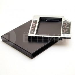 Комплект Optibay 12,5 мм PATA + USB корпус для DVD привода PC