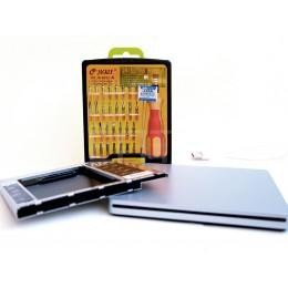 Комплект Optibay 12,5мм + корпус для Superdrive + отвертки для Mac mini