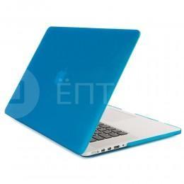 """Чехол / обложка / накладка для MacBook Retina 15"""" YourCover синий матовый"""