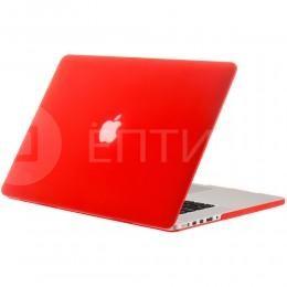 """Чехол / обложка / накладка для MacBook Retina 13"""" YourCover красный матовый"""