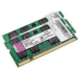 Память для MacBook Pro, Mac mini, iMac 2006-2007 Kingston SO-DDR2 4Gb (2X2Gb) 667MHz