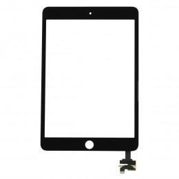 Тачскрин (стекло) черный с микросхемой для iPad mini 3 Retina