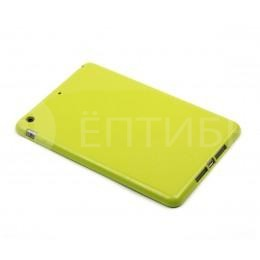 Пластиковый чехол обложка для iPad mini / mini 2 салатовый