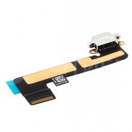 Шлейф нижний Lightning (зарядки) для iPad Mini, белый