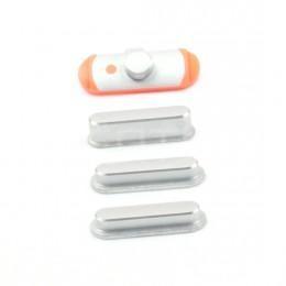 Комплект кнопок (Power, громкости, Mute) для iPad mini, серебристые