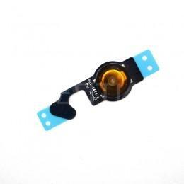 Шлейф нижней кнопки HOME для iPhone 5 с мембраной