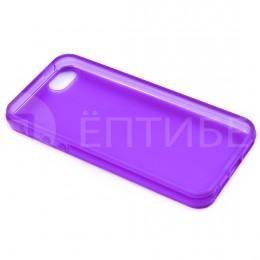 Пластиковый защитный чехол для iPhone 5 / 5S сиреневый