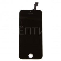 Дисплей в сборе (тач стекло и матрица) для iPhone 5S, SE черный