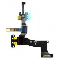 Камера фронтальная передняя в сборе со шлейфом и микрофоном для iPhone 5S/SE
