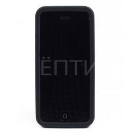 Пластиковый защитный чехол для iPhone 5C черный