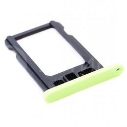 Сим-лоток (Nano Sim Card Tray) для Nano сим карты iPhone 5C зелёный