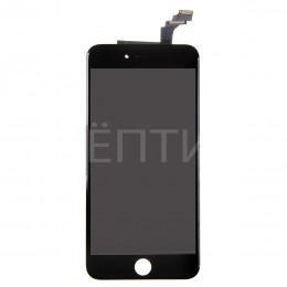 Дисплей в сборе (тач стекло и матрица) для iPhone 6 Plus черный
