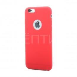 Силиконовый защитный чехол для iPhone 6 красный