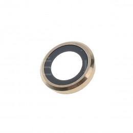 Линза главной камеры, стекло для iPhone 6 / 6S Gold