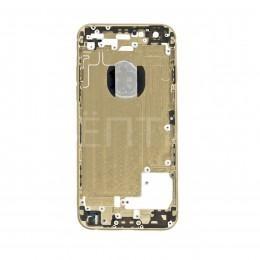 Задняя панель (корпус) для Apple iPhone 6 золотого цвета