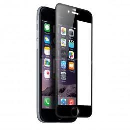 Трехмерное 3D защитное стекло для iPhone 6 / 6S черное