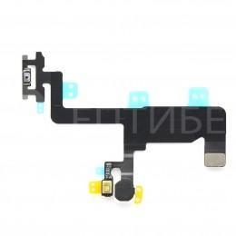 Шлейф кнопки включения / вспышки / верхнего микрофона для iPhone 6