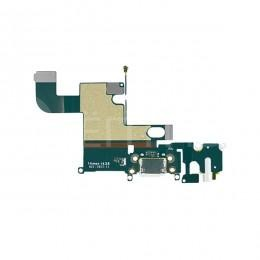 Нижний шлейф с микрофоном / dock коннектора / аудио выхода для iPhone 6 белый