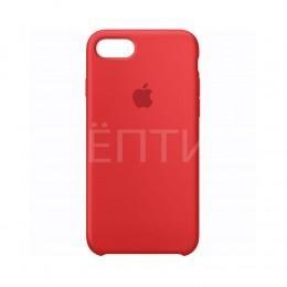 Ударопрочный силиконовый красный чехол для iPhone 7