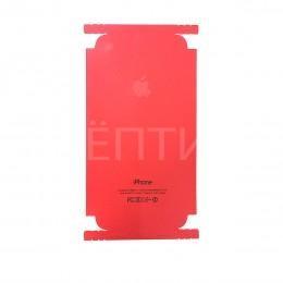 Пленка наклейка для iPhone 7 в стиле iPhone 7 RED